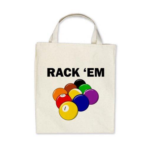Rack 'Em Nine Ball Tote Bags