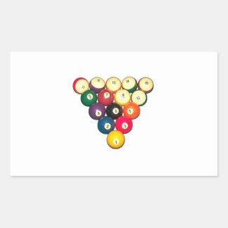Rack 'Em! Rectangle Sticker