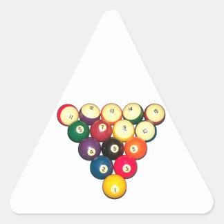 Rack 'Em! Triangle Sticker