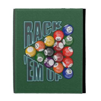 Rack Em Up iPad Folio Cover