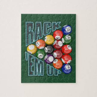 Rack Em Up Jigsaw Puzzle
