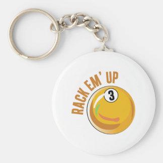 Rack Em Up Keychain