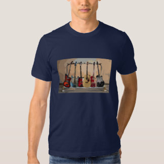 Rack Of Guitars Tees