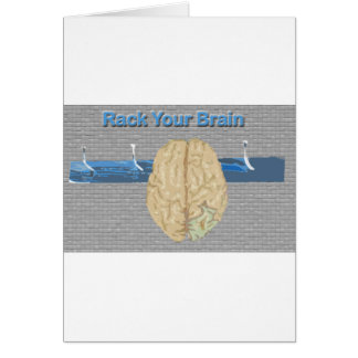 Rack Your Brain Card