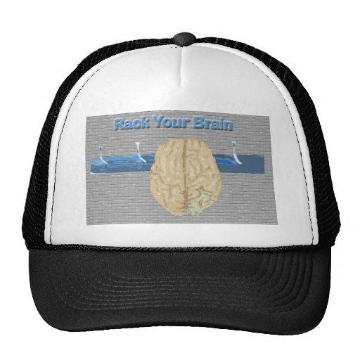 Rack Your Brain Trucker Hat