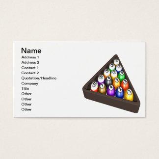 Racked Balls 3 Business Card