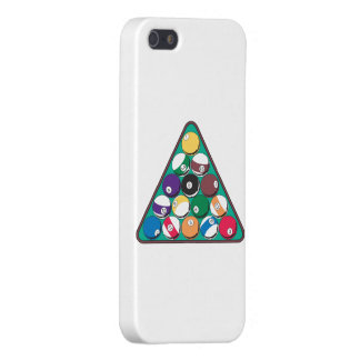Racked Billiard Balls Cover For iPhone SE/5/5s