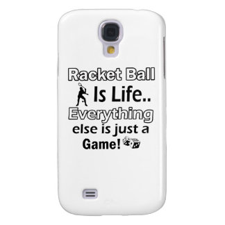 Racket Ball gift items Samsung Galaxy S4 Cover