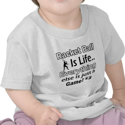 Racket Ball gift items T-shirt
