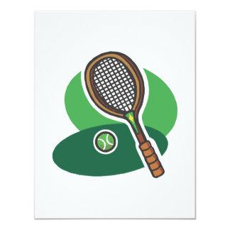 Racket & Ball Invites