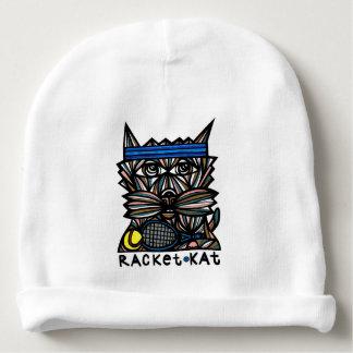 """Racket Kat"" Baby Beanie"