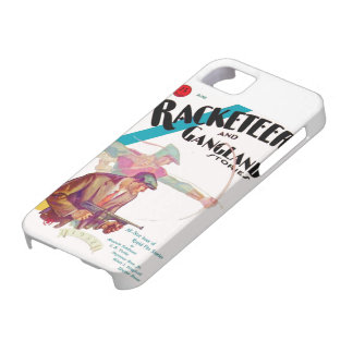 Racketeer and Gangland Stories iPhone case