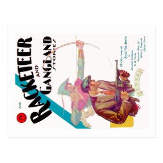 Racketeer and Gangland Stories Postcard