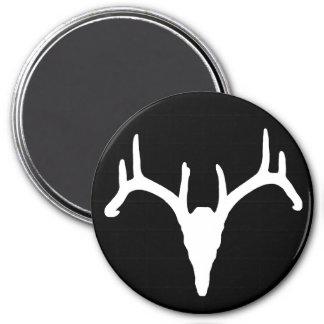Rackgrafix Buck Skull Magnet