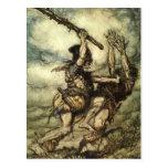 Rackham's Rhinegold Post Card