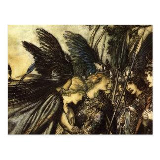 Rackham's Valkyrie Postcard