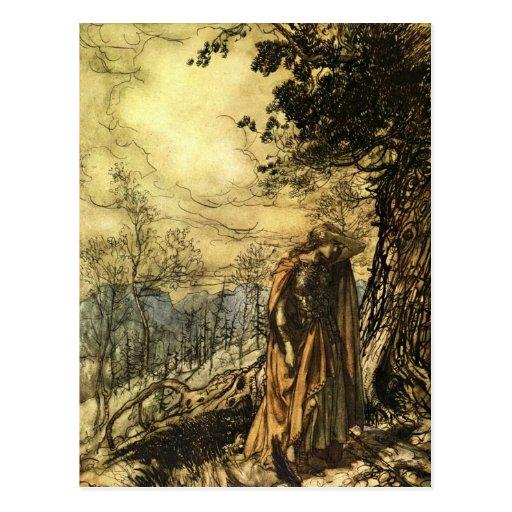 Rackham's Valkyrie Postcards