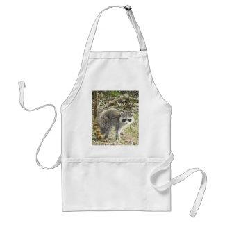 Racoon Adult Apron