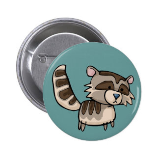 racoon pinback buttons