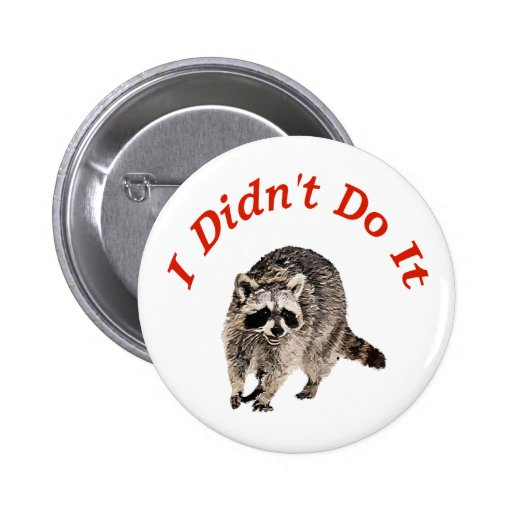 Racoon Buttons