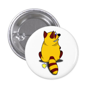 Racoon Button
