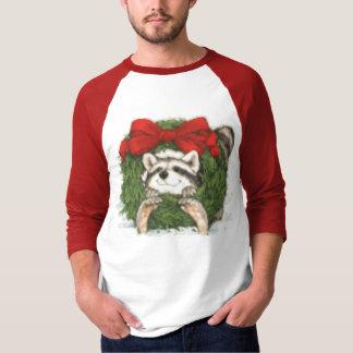 Racoon Christmas T-Shirt