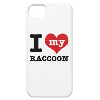 Racoon del amor iPhone 5 protector