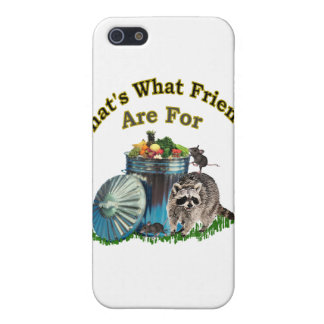 Racoon Friends Case For iPhone SE/5/5s