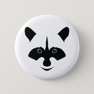 Racoon Pinback Button