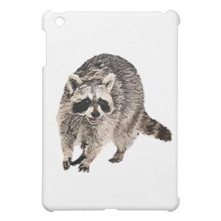Racoon  Plain iPad Mini Cover