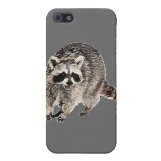 Racoon plain iPhone SE/5/5s cover