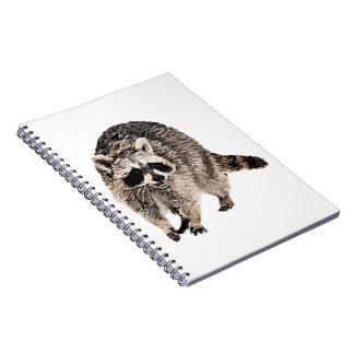 Racoon plain  Notebook