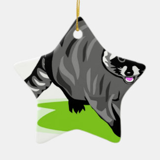 Racoon.png Christmas Tree Ornament