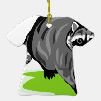 Racoon.png Christmas Ornament