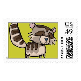 racoon postage