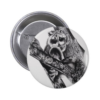 Racoon Products Pinback Buttons