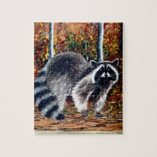 racoon puzzle