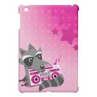 Racoon rock  iPad mini cases