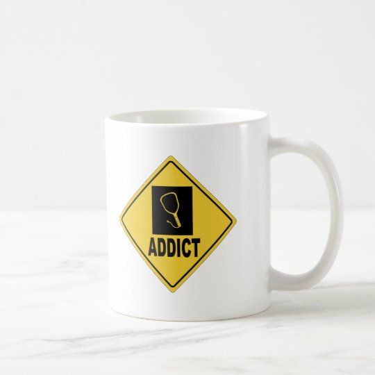 Racquet Ball Coffee Mug