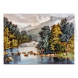 Racquet River--Adirondacks Greeting Card