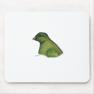 racquet tailed parrot, tony fernandes mouse pad