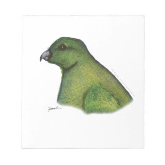 racquet tailed parrot, tony fernandes notepad