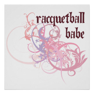 Racquetball Babe Posters