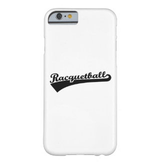 Racquetball Barely There iPhone 6 Case
