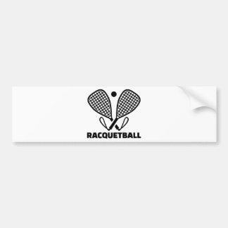 Racquetball Bumper Sticker