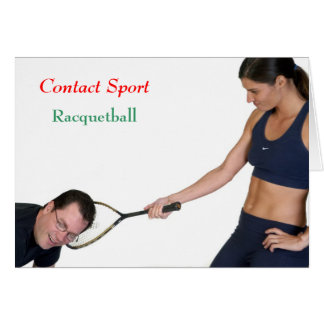 Racquetball Card