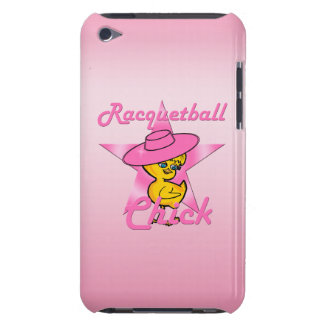 Racquetball Chick #8 iPod Touch Cover