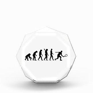 Racquetball de la evolución