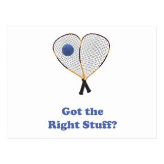 Racquetball de Right Stuff Postal