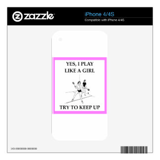 racquetball decal for the iPhone 4